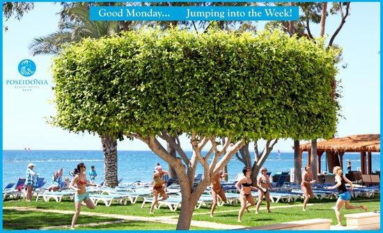 Poseidonia Beach Hotel: Aerobics Activity