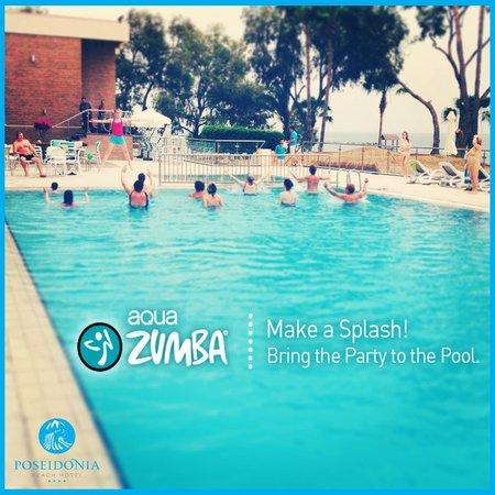 Poseidonia Beach Hotel: Aqua Zumba