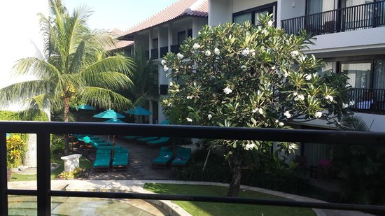 The Camakila Legian Bali: Breakfast view