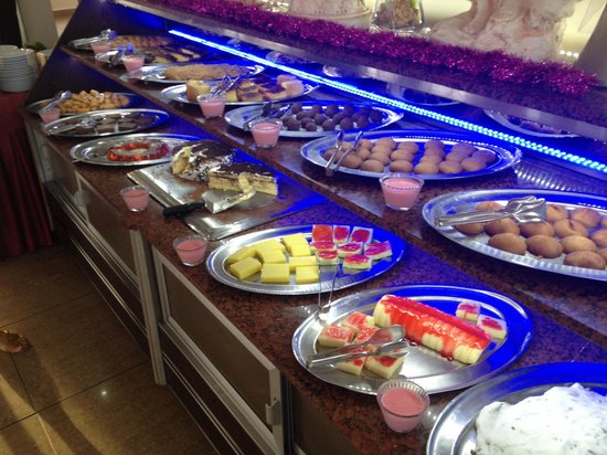 Emir Fosse Beach Hotel: Десерты