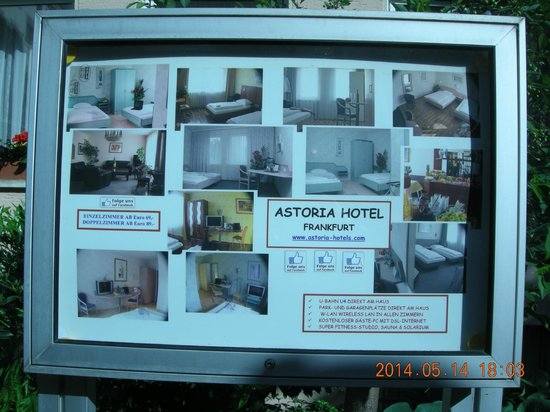 Astoria Hotel: External view of hotel (Pub,ished Tariff available in this photograph)