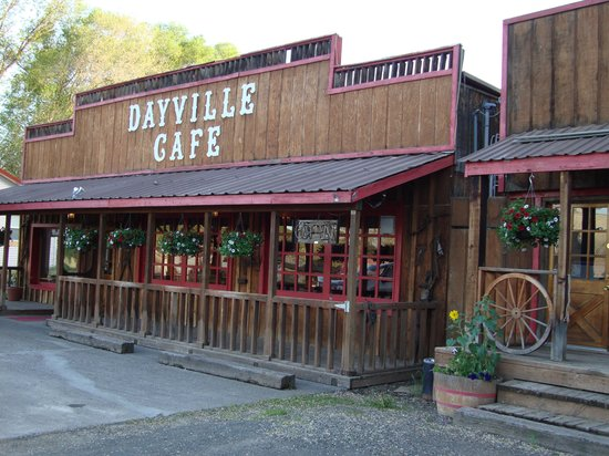 Dayville, OR: Front of the restaurant