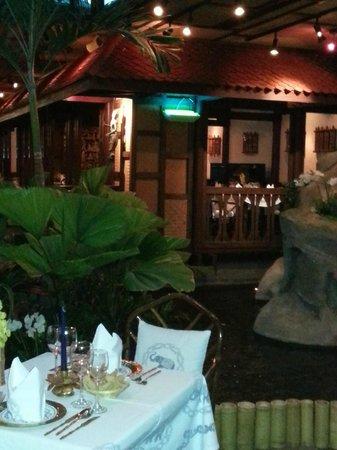 Blue Elephant : dining area