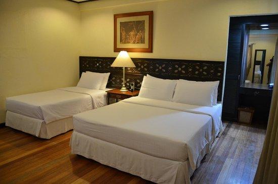 Sea Wind Boracay Island: My sleep area.