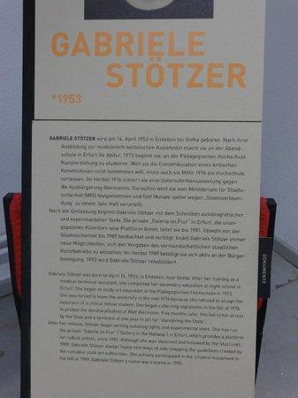 Gedenkstätte Normannenstraße (Stasi-Museum): Profile