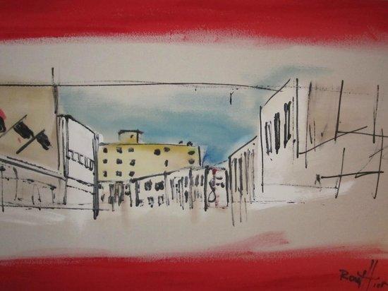 Hôtel Chicoutimi : Artiste et art local