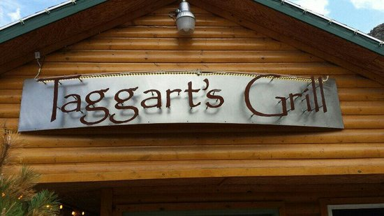 Taggarts: Outside sign
