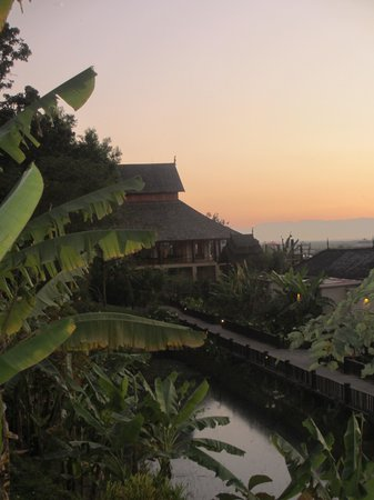 Aureum Palace Resort & Spa Inle: View from room
