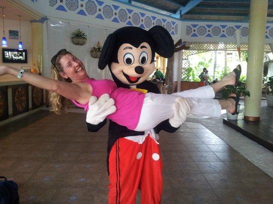 Melia Cayo Santa Maria : Mickey in Cuba!! Lobby