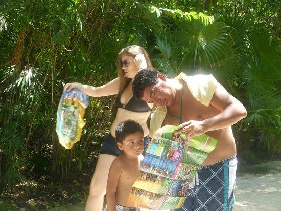 Xcaret Eco Theme Park: buscando atracciones