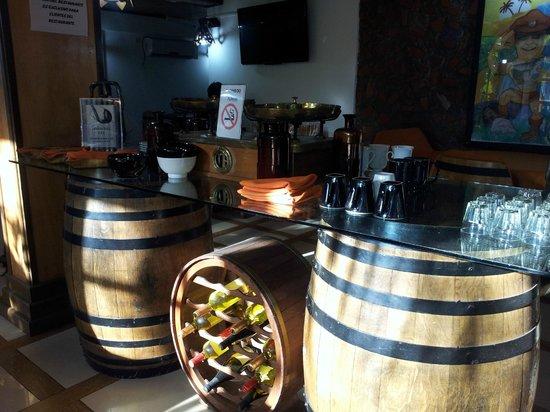 Petit Hotel Si Mi Capitan: Comedor