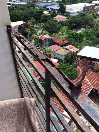 Cityscape Hotel : Balcony
