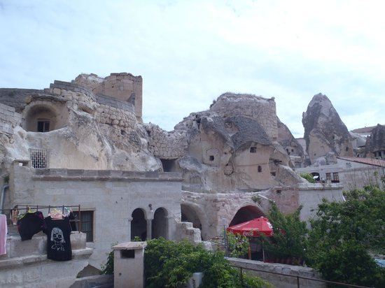 Dervish Cave House : Nice area to enjoy a beverage