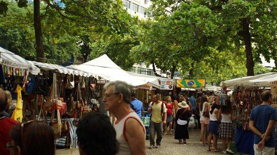 Feira Hippie de Ipanema : Much better than Duty Free Shop at airport