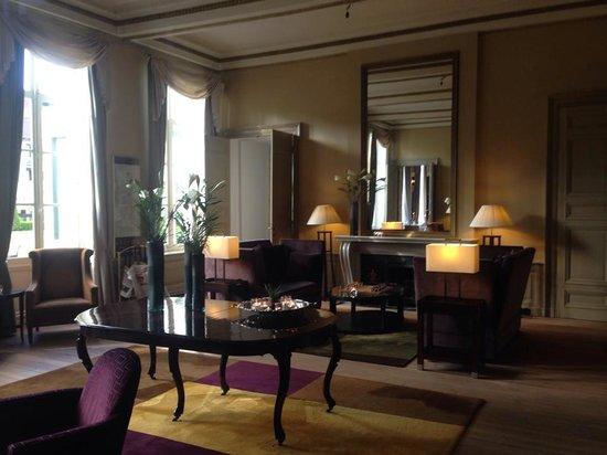Hotel Dukes' Palace Bruges : Lobby sitting area