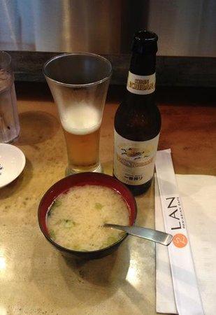 Lan Pan-Asian Cafe: Sopa Miso