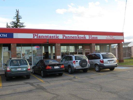 Pfanntastic Pannenkoek Haus: convenient location and parking