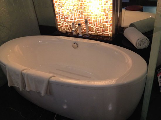 Sofitel Mumbai BKC: Antislip in bathtub