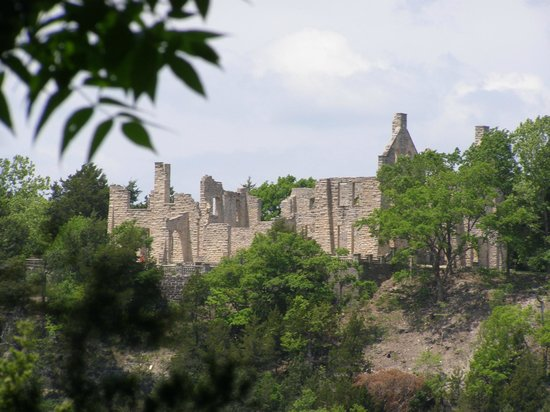 Ha Ha Tonka State Park: The castle from across the way