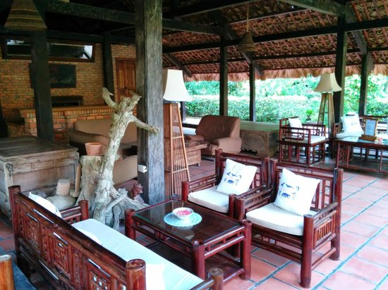 Van Chai Resort: Lounge area