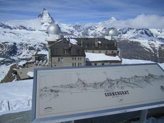 Matterhorn: 展望台からの雄姿