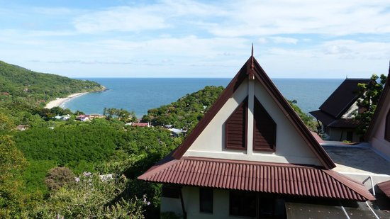 Baan KanTiang See Villa Resort (2 bedroom villas): Aussicht von der Terrasse