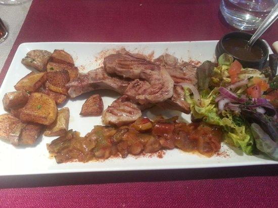 La Table d'Ysoa : Lamb Chops