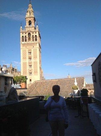 Hotel Dona Maria: uizicht vanuit het hotel