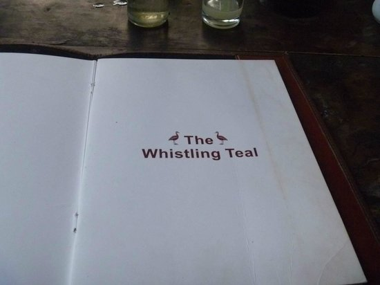 The Whistling Teal: Full table service