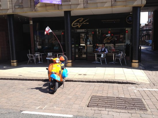 Caffe Venecia Ltd: watching the world go by
