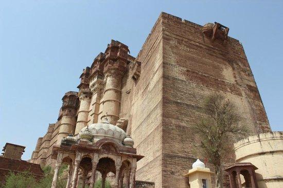 Forteresse de Meherangarh : mehrangarh fort