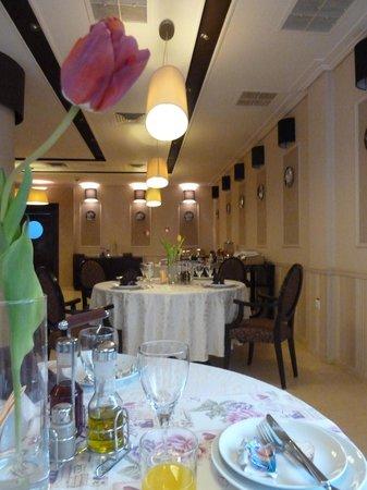 Griff Hotel: The restaurant