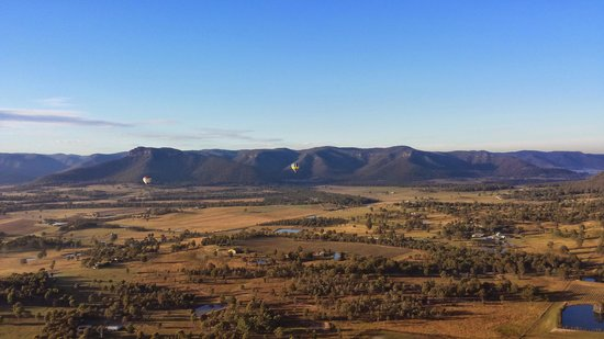 Balloon Aloft Hunter Valley Day Tours: In flight