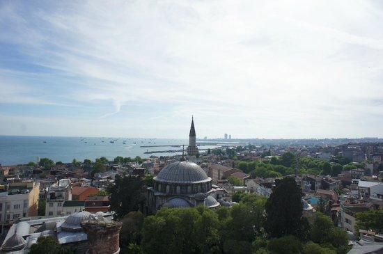Daphne Hotel : Вид с террасы