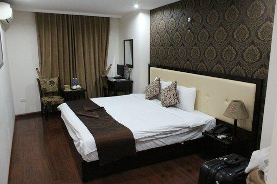 Hanoi Serene Hotel: 宿泊した部屋