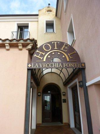 La Vecchia Fonte Hotel : ingresso hotel