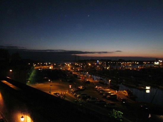 ibis Styles Saint-Malo Centre Historique : Blick am Morgen aus dem Fenster