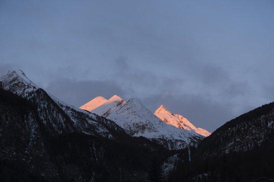 Hunguest Hotel Heiligenblut: Sonnenaufgang