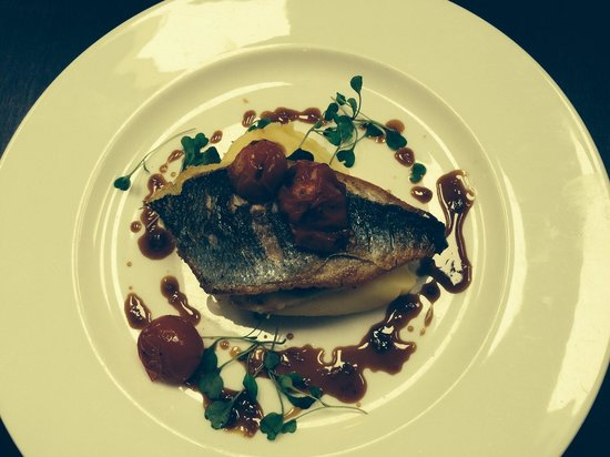 Stanley House Hotel & Spa: Fillet of bream