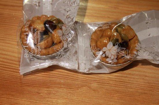 Taroko Aluwa homestay : Welcome cookies