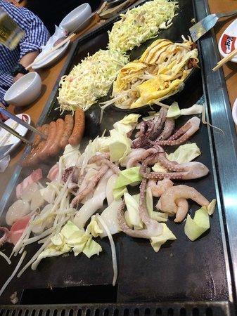 Tsuruhashifugetsu Hankyu32bangaiten: food