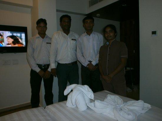 BEST WESTERN Ramachandra: House Keeping Staff