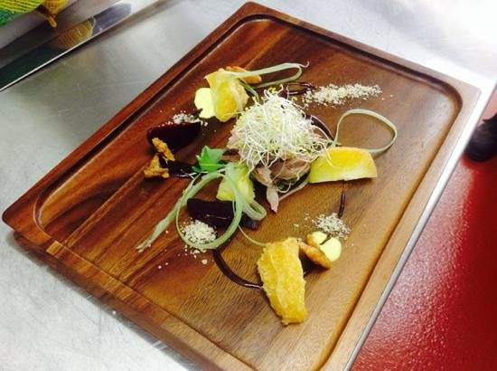 Barcelona Tapas Bar And Cafe : confit duck special, one night only:)