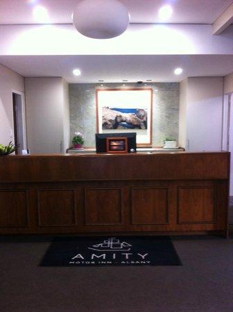 Country Comfort Amity Motel Albany: Reception