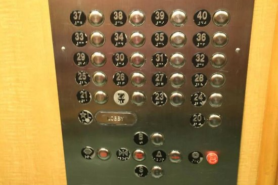 The New Yorker A Wyndham Hotel: Une chambre au 36eme étage