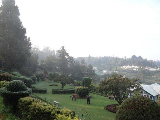 Hotel Mayura Sudarshan Ooty: Lawns