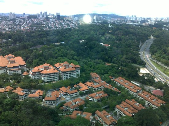 Le Meridien Kuala Lumpur: Good view from the suite