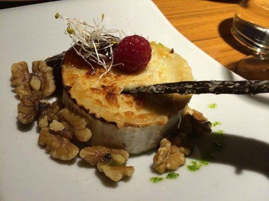 Albarama Restaurante Tapas : Queso de cabra