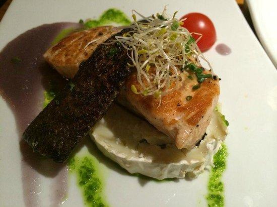 Albarama Restaurante Tapas : Salmón