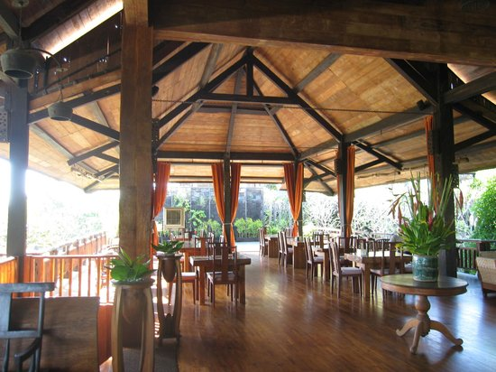 Hotel Puri Bambu : restaurant